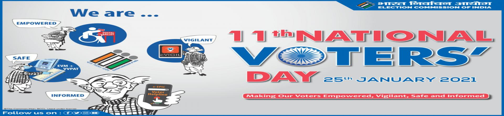 National Voters' Day - 2021